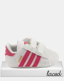 adidas Superstar Crib Sneakers Pink