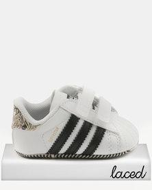 adidas Superstar Crib Sneakers Black