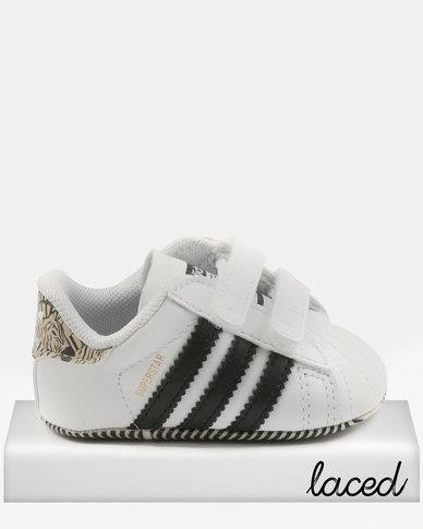 27a77a59e5c adidas Superstar Crib Sneakers Black