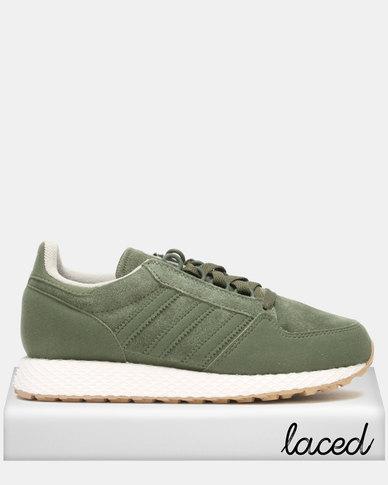 adidas Original Boys Forest Grove Sneaker Olive