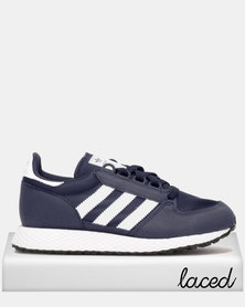 adidas Originals Boys Oregon Sneaker Navy