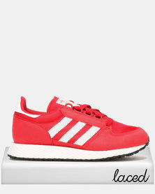 adidas Originals Boys Oregon Sneaker Red