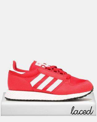 best cheap 23d47 6edc5 adidas Originals Boys Oregon Sneaker Red
