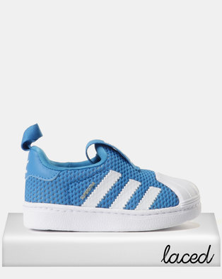 07b935164bc adidas Boys Superstar 360 I Sneakers Blue