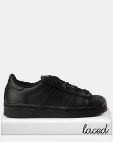 adidas Boys Superstar C Sneakers Black