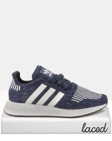 5c8499af094bf adidas Originals Boys Swift Run J Sneakers Blue