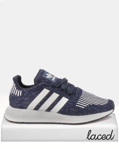 6596276401e adidas Originals Boys Swift Run J Sneakers Blue