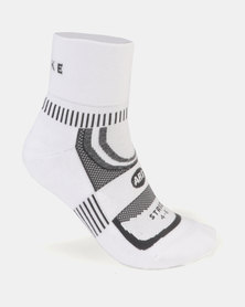 Falke Performance Anklet Stride Socks White/Grey