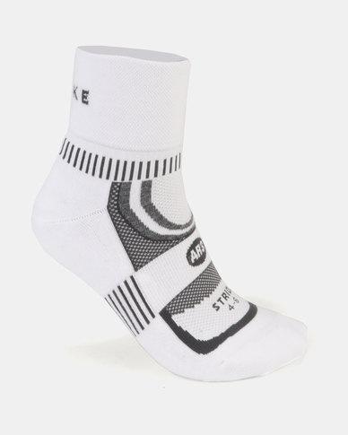 Falke Performance Anklet Stride Socks White/Grey
