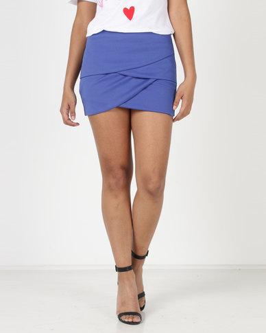 Utopia Aline Skirt Cobalt