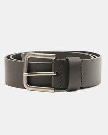 Wembley Elliot Bonded Leather Belt Brown