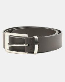 Wembley Connor Bonded Leather Belt Brown