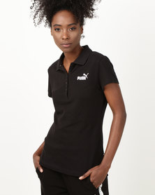 Puma Sportstyle Core ESS Polo Black