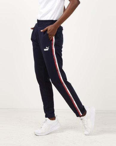 Puma Sportstyle Core Tape Pants TR Navy