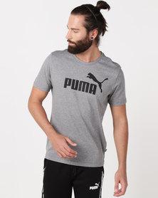 Puma Sportstyle Core Ess Logo Tee Grey