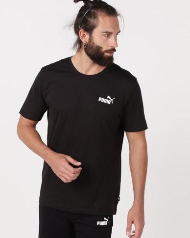 Puma Sportstyle Core Ess Small Logo Tee Black