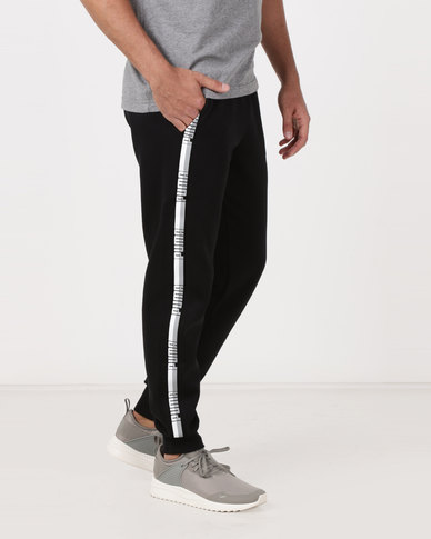 Puma Sportstyle Core Tape Pants Black