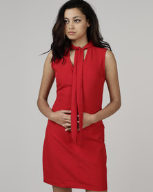 Utopia by Robyn-Leigh Mini Shift Dress Red