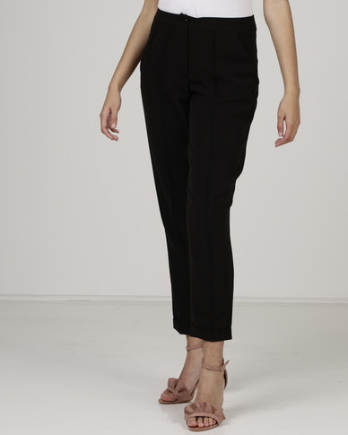 Utopia by Robyn-Leigh Pin Tuck Pants Black