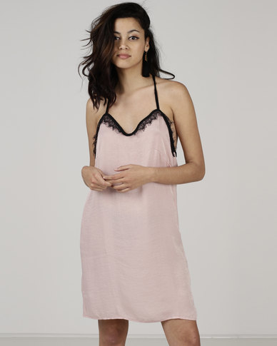 Utopia by Hannah Camisole Dress Pink