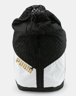Puma Performance Ambition Back Pack White Black ee6d5efb8d