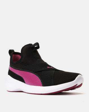 f57551c8022f34 Puma Sportstyle Core Rebel X Puma Sneakers Black Magenta Haze