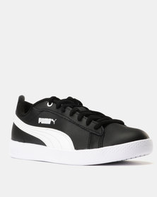 113486ea9 Puma Sportstyle Core Smash Womens V2 L Sneakers Puma Black/Puma White