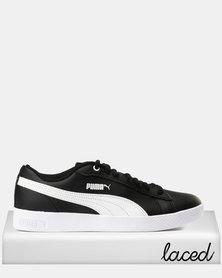 Puma Sportstyle Core Smash Womens V2 L Sneakers Puma Black/Puma White