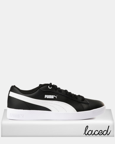 reputable site 9cd2e 42c25 Puma Sportstyle Core Smash Womens V2 L Sneakers Puma Black/Puma White