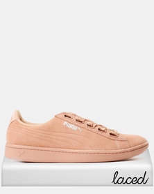 Puma Sportstyle Core Vikky Ribbon Sneakers Dusty Coral