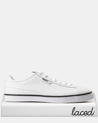 9b19fa1308af Puma Urban Plus L Sneakers Puma White-Puma White