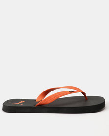 Puma First Flip-Flops DP Black/Firecracker