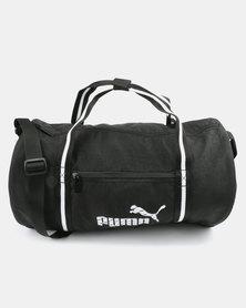 Puma Womens Core Barrel Bag Black
