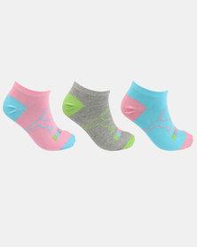 Puma 3 Pack Secret Socks Multi