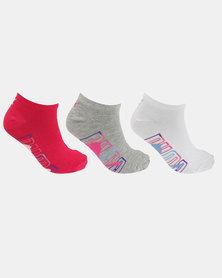 Puma 3 Pack Secret Graphic Socks Multi