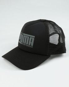 Puma Sportstyle Core Trucker Style Cap Black