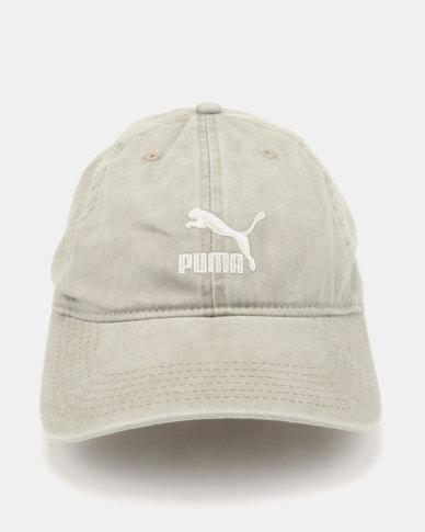 Puma Sportstyle Core Archive BB Cap Green  3a48f6e0860