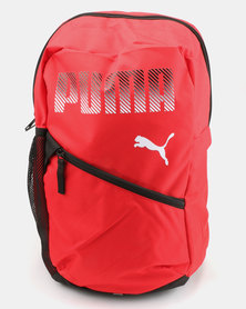 Puma Plus Backpack Red