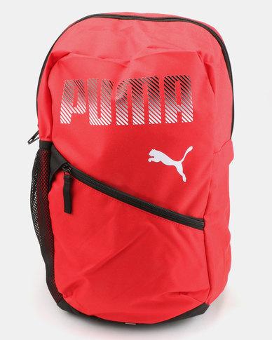 Puma Plus Backpack Red