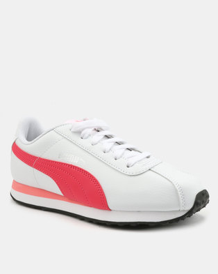 288de944a6f8c0 Puma Sportstyle Core Turin Sneakers White Paradise Pink
