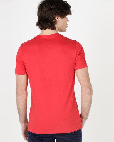 Puma Athletics Tee Ribbon Red