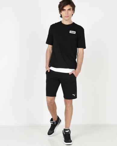 Puma Sportstyle Core ESS Jersey Shorts 9 Cotton Black