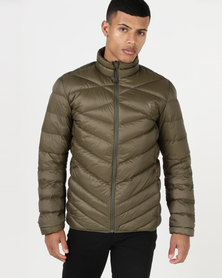 Puma Sportstyle Core PWR Warm X PackLITE 600 Down Jacket Olive