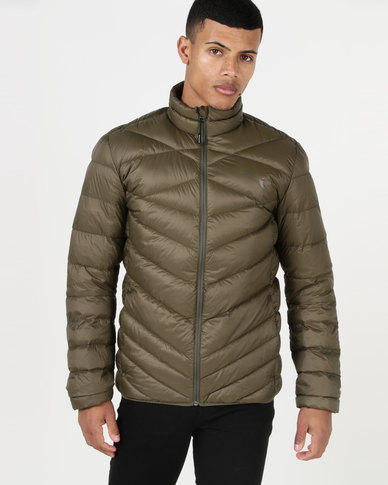 6342b1afb47 Puma Sportstyle Core PWR Warm X PackLITE 600 Down Jacket Olive