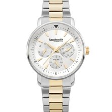 Lambretta Ladies Watch With Silver Bracelet Silver Gold