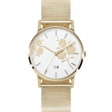 Tick & Ogle Ladies Watch - Mesh Gold