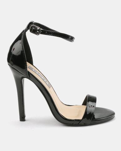 Utopia Heeled Sandals Black