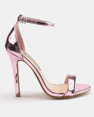 Utopia Heeled Sandals Pink