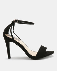 Utopia Strappy Heeled Sandals Black