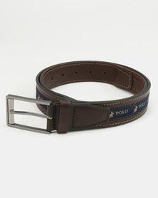 Polo Lorenzo Leather Belt Brown